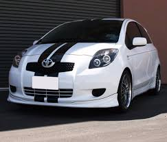 Stripe kit Sticker Decal for Toyota Yaris Vitz TS RS Front Light ...