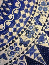 34 best Delph Blue Quilts for Mom images on Pinterest | White ... & breezingby: Butterflies and flowers and Dear Jane blocks, photo by Meg  Baier at Patchworktage Dortmund.( Love this Quilt. Blue and White with  Butterflies ... Adamdwight.com