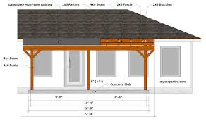 free standing patio covers. Patio Cover Plans Free Standing Covers