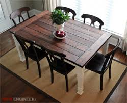 about dining table legs farmhouse dining table