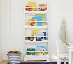 5 madison 4 shelf bookrack pottery barn kids white bookshelf for kids