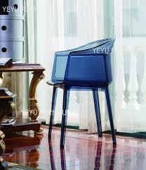 minimalist modern furniture. minimalist modern design transparent polycarbonate plastic dining arm chair clear acrylic cafe loft chairs furniture