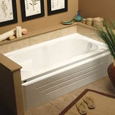 alcove bathtub acrylic