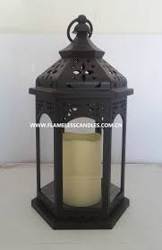 outdoor decoration whole electric candle