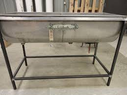 Table With Drink Trough Junkfest Flea Market Carrington Nd Dairy Trough Perfect