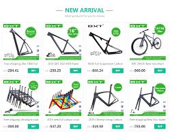 2019 <b>Newest</b> BXT Mountain bike UD <b>full carbon</b> bicycle <b>handlebar</b> ...