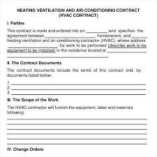 Maintenance Service Contract Samples Template Free Download Ndis ...