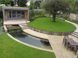 Small Picture Exterior Pool Landscaping Designs Modern Garden Ideas Excerpt