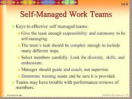self managed teams 14 groups and teams ppt video online download