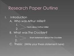 thesis statement for the crucible abigail statement of purpose  example of apa format reference list