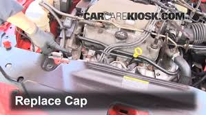 how to add freon in a 1999 2005 pontiac grand am 2000 pontiac replace the low pressure port cap