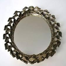 ornate hand mirror. Ornate Hand Mirror. Old Brass Hand-mirror - Csp3496933 Ornate Hand Mirror