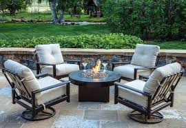 patio furniture fire pit table set ideas with costco