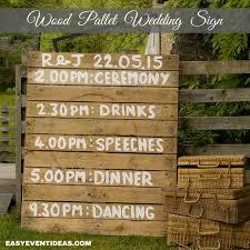 Wood Pallet Wedding Sign-3