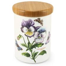portmeirion botanic garden storage jar 14cm peter s of kensington