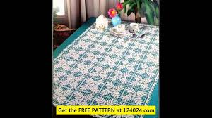 Crochet Tablecloth Pattern Magnificent Easy Crochet Tablecloth Patterns YouTube