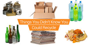 Things To Recycle 9 Things You Didnt Know You Could Recycle Junk It