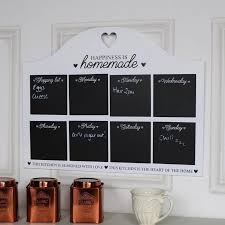 Kitchen Chalk Memo Board