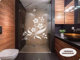 Badezimmerfenster Sichtschutz Wasserfest Bad Fenster Gardine