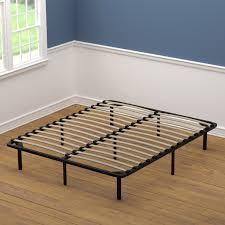Shop Handy Living Queen Size Wood Slat Bed Frame - On Sale - Free ...