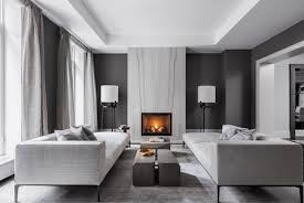 Interior design ideas living room Grey Contemporary Black And Gray Living Room The Spruce 21 Modern Living Room Design Ideas