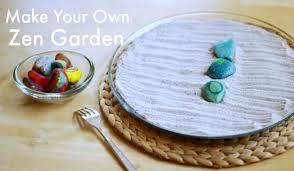 diy zen garden sand tray the artful