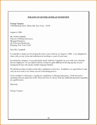 Follow Up Interview Letter Gorgeous Follow Up Email After Interview Sample Sending Resume Recruiter