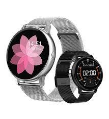 Papillon Pro ECG Nabız Tansiyon Ölçer IP68 Kadın Akıllı Saat- Metal Çelik