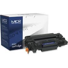 tech office alternative. MICR Tech Remanufactured Toner Cartridge - Alternative For HP 55A (CE255A) MCR55AM Office
