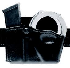 Double Magazine Pouch With Handcuff Holder Pouches Cases Holders 34