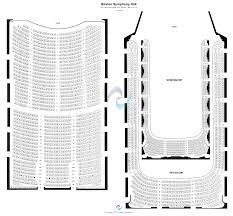 Boston Symphony Hall Seating Chart