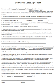 Sublease agreement template in word. Free Printable Commercial Lease Agreement Printable Agreements