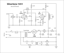 vintage amps bulletin board • view topic silvertone 1451 anyone ever see an actual schematic for this little addition to the family