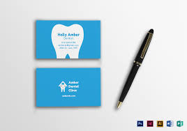dental visiting card design dental business card design template in psd word publisher