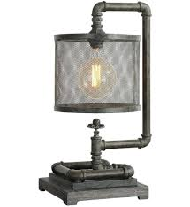industrial pipe lighting. Industrial Pipe Lamp Uttermost 1 Undefined Ideas . Lighting