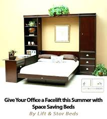murphy bed in office. Murphy Bed Desk Combo Office Give Your A This Summer With Space Saving Beds . In