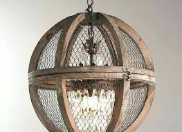 full size of wood and metal sphere chandelier diy chrome barrel round light fixture home improvement