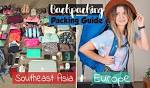 What to wear backpacking blog se asia