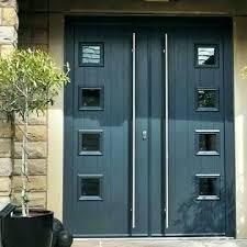 black double front doors. Plain Black Modern Double Front Doors Mid Century Entry Door Medium Size Contemporary  Uk Cent  Inside Black Double Front Doors S
