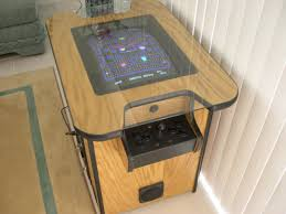 Cocktail Arcade Cabinet Mame Cocktail Cabinet For Sale Marketplace Atariage Forums