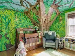 48 jungle theme wallpaper for kids on
