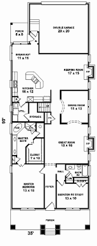 narrow lot house plans unique with rear designs garage new baby nursery cottage house plans rear