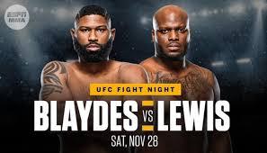 Blaydes opened as a definite ufc betting favorite over lewis. Ufc Vegas 19 Blaydes Vs Lewis Full Betting Odds Bjpenn Com