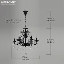 vintage black crystal chandelier light fixture 6 lights american intended for contemporary household black wrought iron and crystal chandelier ideas