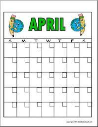 Calendar To Fill In Free Calendar April Calendar Fill In Calendar