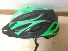 Zefal Helmet Light Zefal Adjustable Bike Helmet Green Black Model 5778 Adult Large Pk