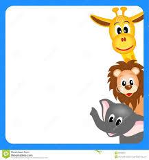 zoo animals clipart border. Perfect Clipart Animal Clipart Border Wild Throughout Zoo Animals Clipart Border A