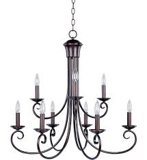 maxim lighting 70006oi loft oil rubbed bronze 9 light chandelier undefined