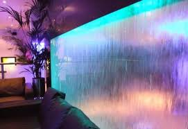 cool indoor lighting. Unique Indoor Fountain With Cool Lighting Fixtures For Modern Home Decorating Ideas G