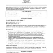 Fantastic Sample Teaching Resumes Ontario On Teacher Resume Within